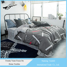 Home Textile Bedding 4pcs Discount Custom Bedding Pillow Cover