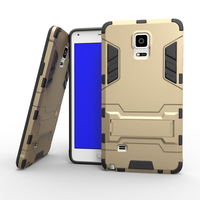 [Heavy Duty] Shock-Absorption Kickstand Hybrid Dual Layer Armor Defender Protective Case Cover for Samsung galaxy note 4