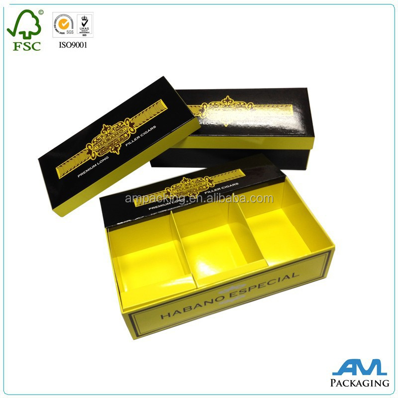 custom with paper insert luxury set up paper box dental packaging