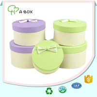 2016 new style round gift wrap box for watch