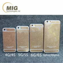 Colorful glitter shining mobile phone case for iphone 6 6s new product hot sell in alibaba 2016
