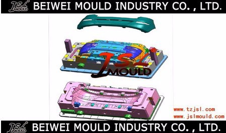 High quality car bumpers plastic injection moulding making with competitive price