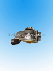 C6121 shanghai diesel engine 2W8001 water pump for SHANTUI SD16 bulldozer