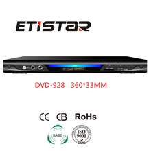 Digital dvd player support usb sd card mic amplifier dvd player with fm