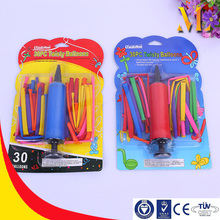 The Balloon tyre pump colorful balloons loving baby air ball set