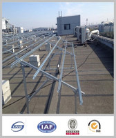 Ground steel Solar Mounting System / solar panel brackets / solar panel mounting structure
