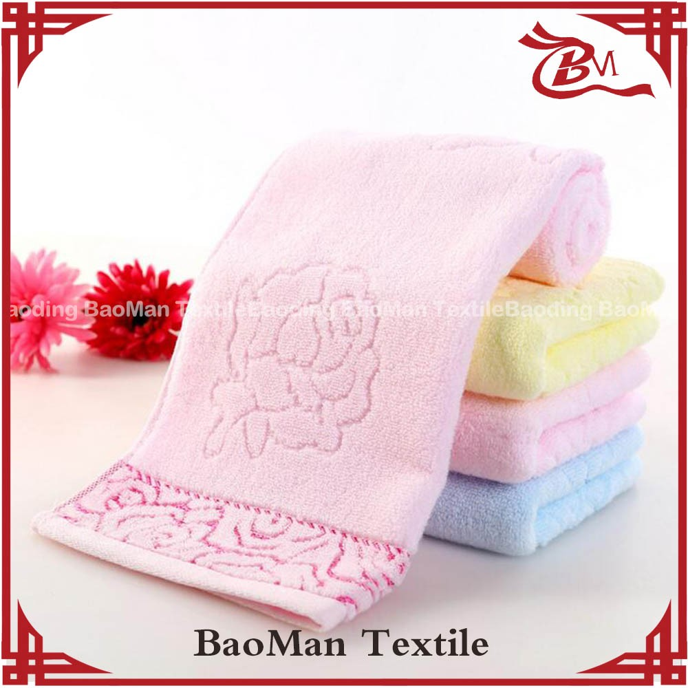 zerotwist 100cotton light color dyed dobby terry towel for women