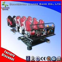 New Arrival High Quality 6Dof Motion Platform Hydraulic / Electric 9 Seats 5D Cinema