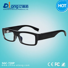 Video Recording hidden Spy Glasses camera invisible HD digital vedio camcorder