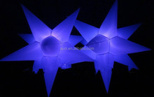light sky star hall decoration with LED light repair kit /christmas led star decoration