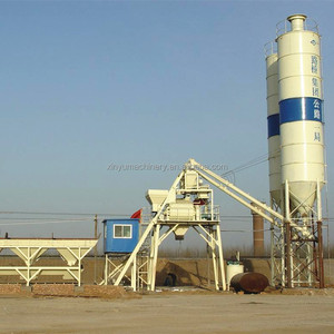 Mini Ready Mix HZS25 Stationary Concrete Batching Plant Price for Sale