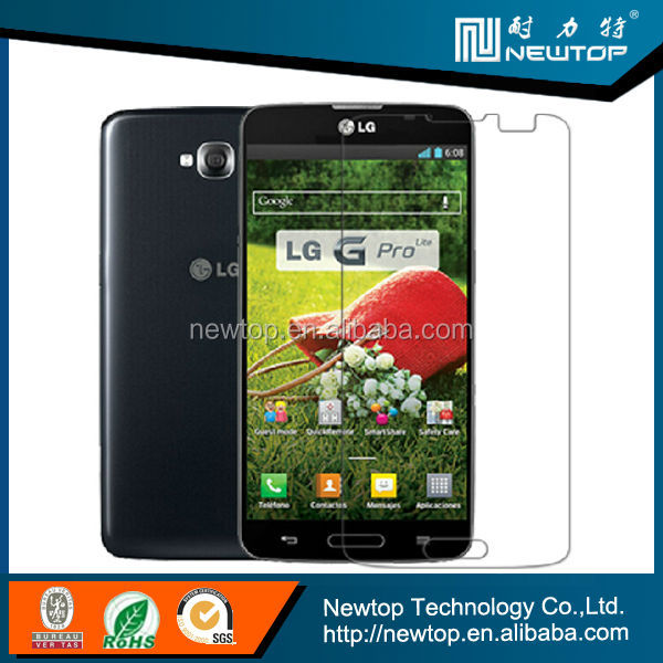 Mobile phone accessories screen protector for lg g pro lite