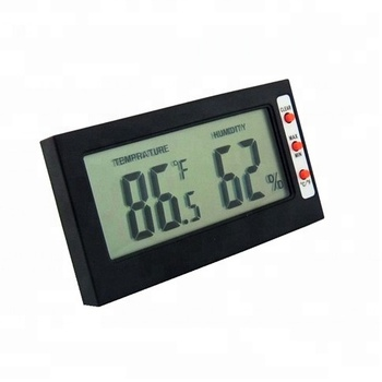 New Design Digital LCD Display Thermometer Hygrometer Thermo Hygrometer Thermostat with Max Min Record Function