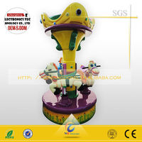 coin operated carousel amusement kiddie kiddy rides amusement park rides arcade simulator game machine for children game center