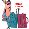 pet dog cat folding foldable backpack trolley leather canvas travel travelling bag luggage and duffle set waterproof factory
