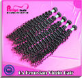 Ali trade 100% full cuticle wavy Peruvian virgin hair sale promotion on China market