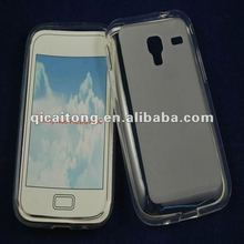 mobilephone tpu puding case for sumsung galaxy ace plus S7500