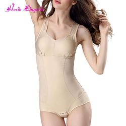 Ladies body Slimming Control shaper Padded 80% Nylon 20% Spandex cheap Women Bodysuit