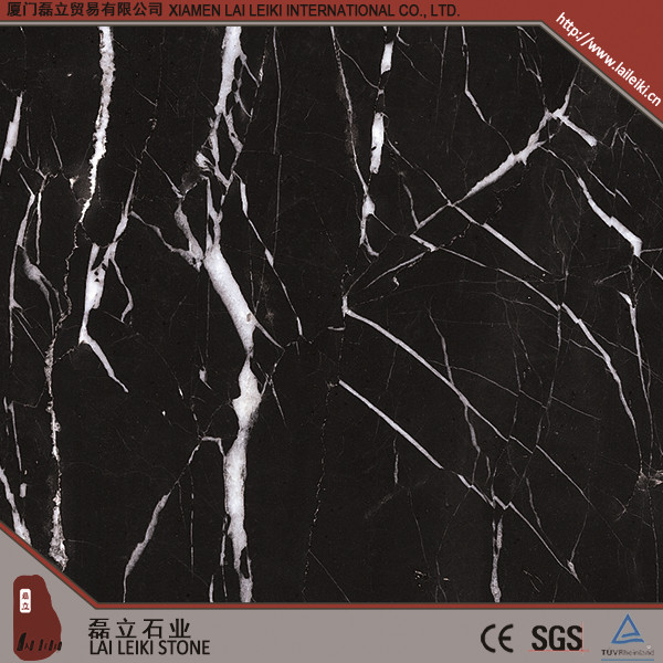 China Black Marble Floor Design Wholesale