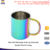 Double Wall rainbow color stainless Steel cup