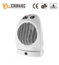 Oscillation Base Fan Heater 2 Settings Max Pow 2000W FH-20A
