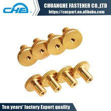 China supplier brass quick released knurled nuts