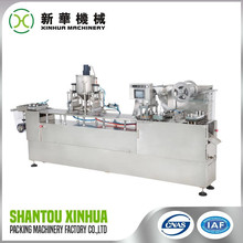 Different Models of plastic peanut butter containers forming filling machine
