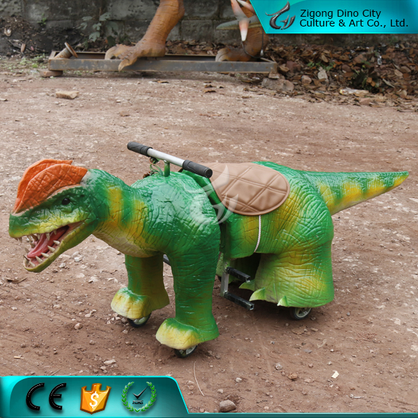Popular Attractive Electric Dinosaur Car for Children