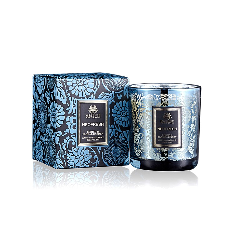 China Supply Luxury Scented Soy Candle into Gift Box for Home Fragrance