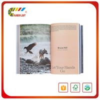 High-grade China book publisher customized CMYK sewimg binding stationary book printing