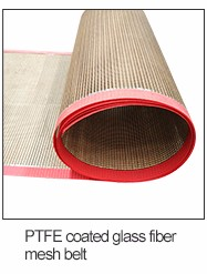 PTFE coated fiberglass cloth/teflon conveyor belt/0.18mm