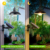 led street light solar Waterproof Solar Rotatable Outdoor Garden Camping Hanging LED Light Lamp