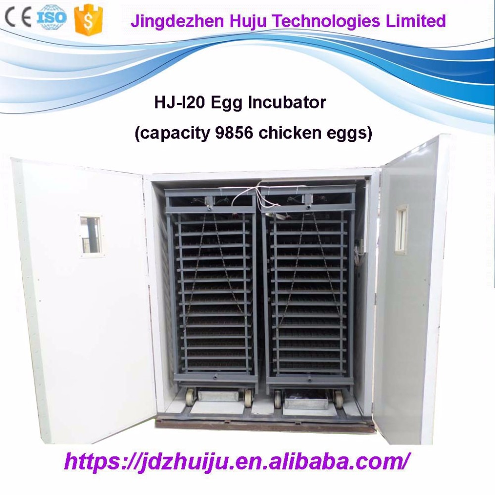 100% Automatic 9856 egg incubator for sale in india with low price HJ-I20