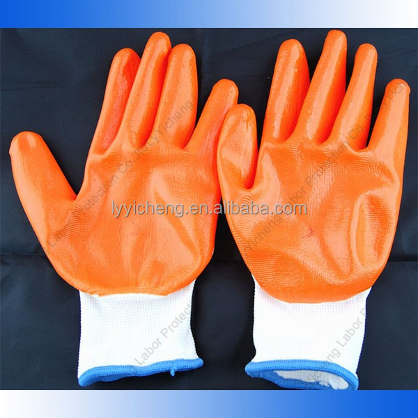 0103112 nylon coated gloves cheap price faithful big manufacture superE gloves 13G durable nylon