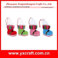 Christmas decoration (ZY14Y151-1-2-3-4 14CM) best selling christmas items, christmas boot item decoration, christmas tree decor