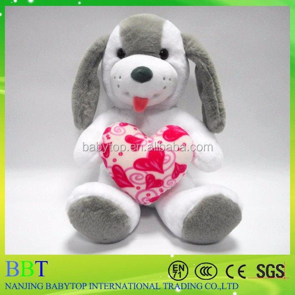 couple wedding dog white stuffed soft dog toy