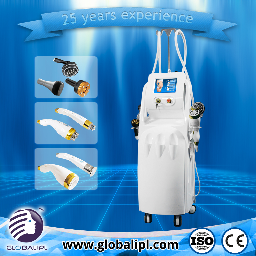 Multifunctional ultra cavitation tri polar rf with low price