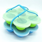 Wholesale Portable Non Stick BPA Free Food Grade Silicone Egg Bites Molds For Infant