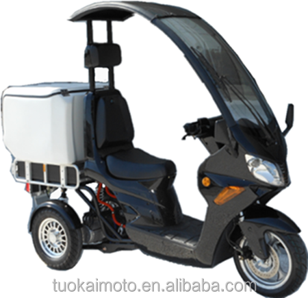 2.2KW electric roof trike scooter/electric 3wheels scooter (TKE-M2200-D)