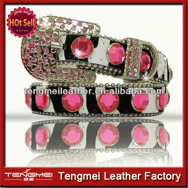 Beautiful Pink Rhinestone Bling Dog Collar
