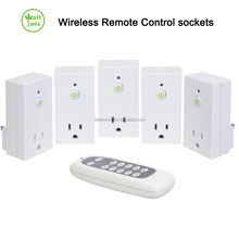 Wireless Smart Remote Control Electrical Outlet Socket Switches Learning Style US Plug