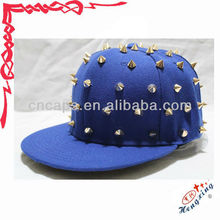 Wholesale rivet custom design barcelona snapback hat