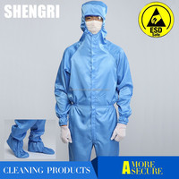 High Quality Antistatic Cleanroom Suit for Electronic Factory