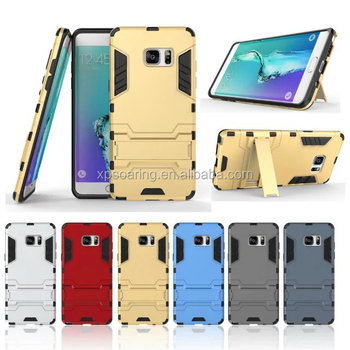Kickstand hybrid case skin cover for Samsung Galaxy Note 7, Shockproof cover for Galaxy Note 7