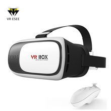 VR Box 2 with Remote 360 Video 3D Glasses Virtual Reality Games Adjustable
