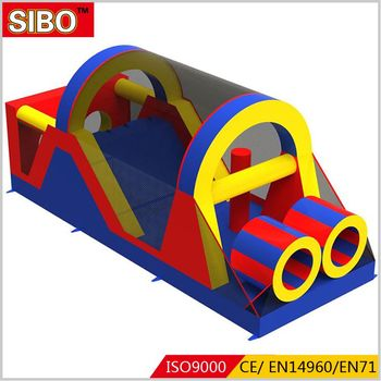 Jumpy castle giant inflatable obstacle course China bounce house