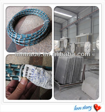 diamond disc 8.8/8.9 Diamond Bead Diamond Wire Saw Blade For Granite Marble Profiling Plastic Injection