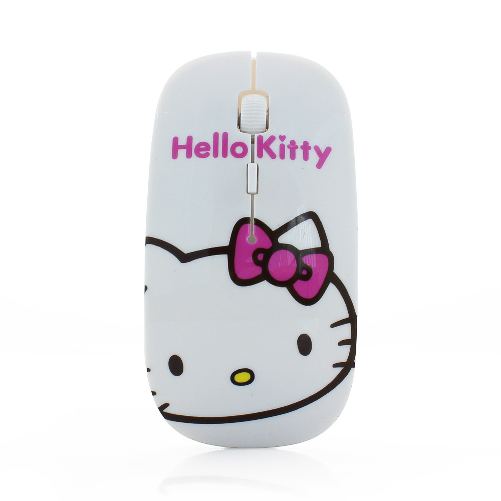 Promotional hello kitty cat/dog computer mouse wired mouse