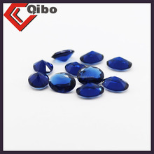 top quatily best selling various sizes Denier shape synthetic glass stone