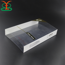 Hard Case Clear Plastic Transparent Gift Box Sleeve